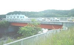 現在の左股橋