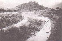 昭和38年右股橋付近