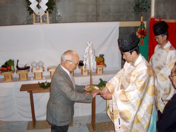西野神神 神輿殿竣工祭