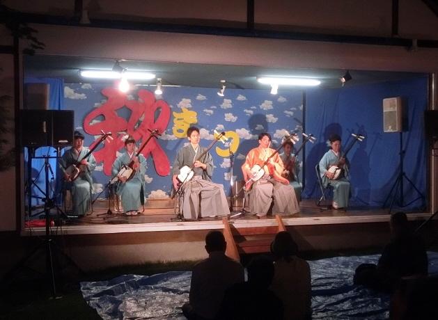 西野神社 演芸(歌謡ショー)