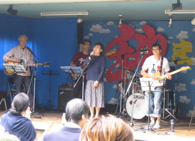 西野神社 ジャズフェスティバル