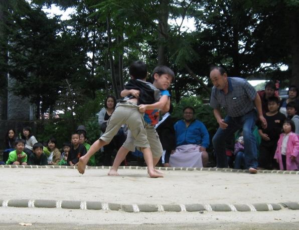 西野神社 子供相撲大会