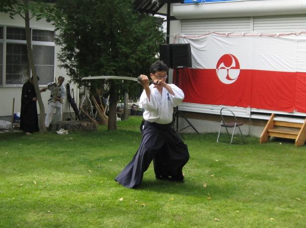 古武術演舞奉納