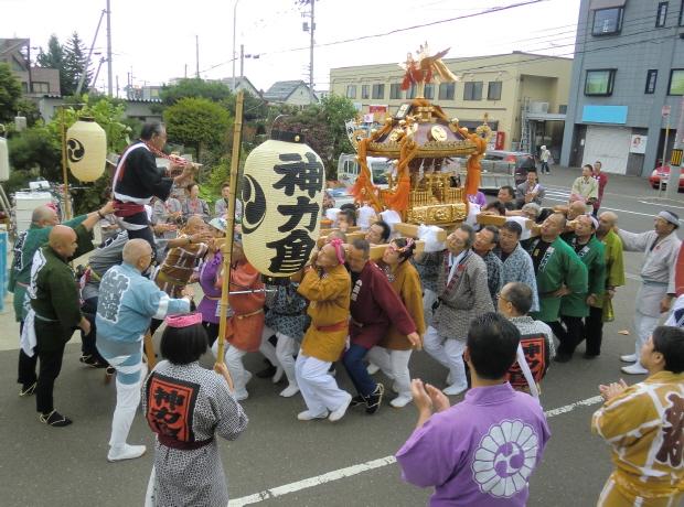 西野神社 神輿渡御