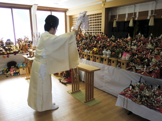 西野神社 人形供養祭
