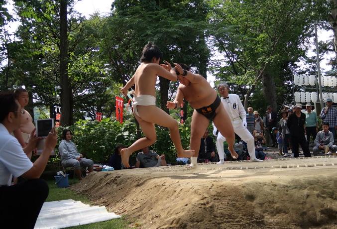 中学生相撲大会