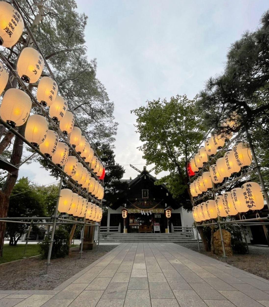 令和3年 西野神社秋まつり 奉納提灯