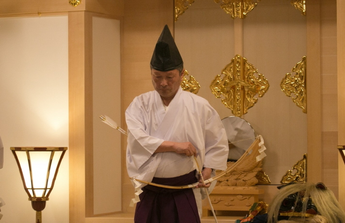 西野神社 儀式殿竣工遷座祭