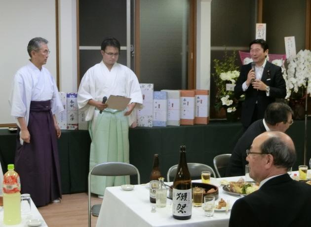 西野神社 儀式殿竣工遷座祭直会