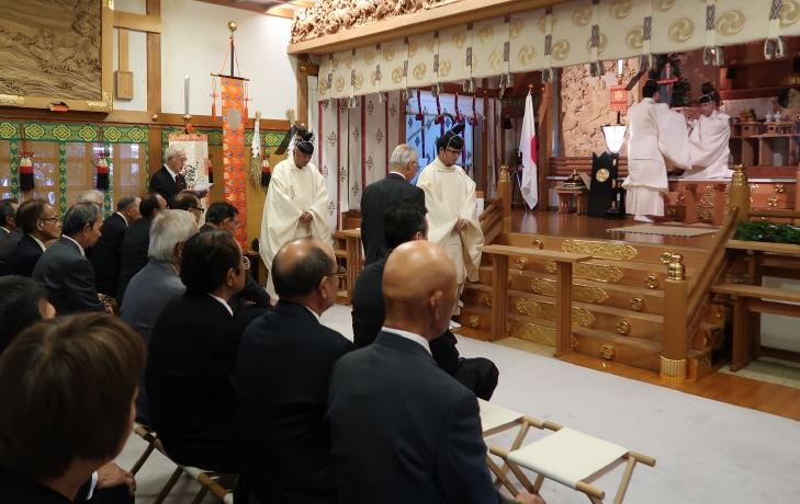西野神社 宵宮祭