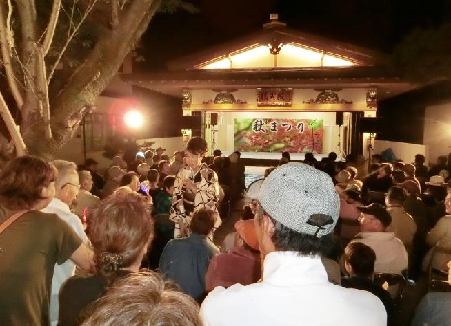 西野神社秋まつり 民謡・演歌ショー